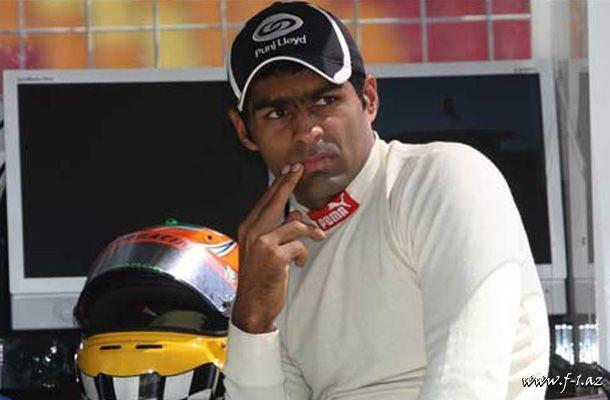 K.Çandhok Hispania komandasının sürücüsüdür