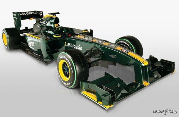 Lotus komandası yeni maşınını təqdim edib