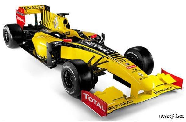 Renault komandası yeni maşınını təqdim edib