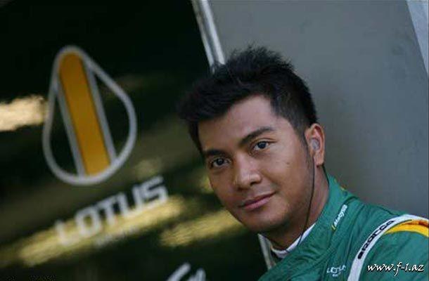 F.Fauzi Lotus Renault GP-nin ehtiyat sürücüsüdür