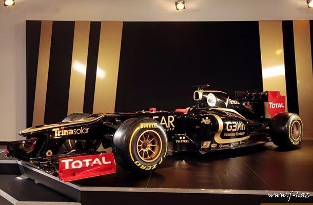 Lotus yeni E20-ni təqdim edib