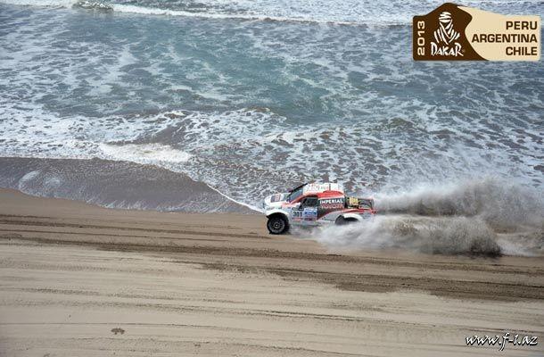Dakar-2013: 4-cü gün (video)