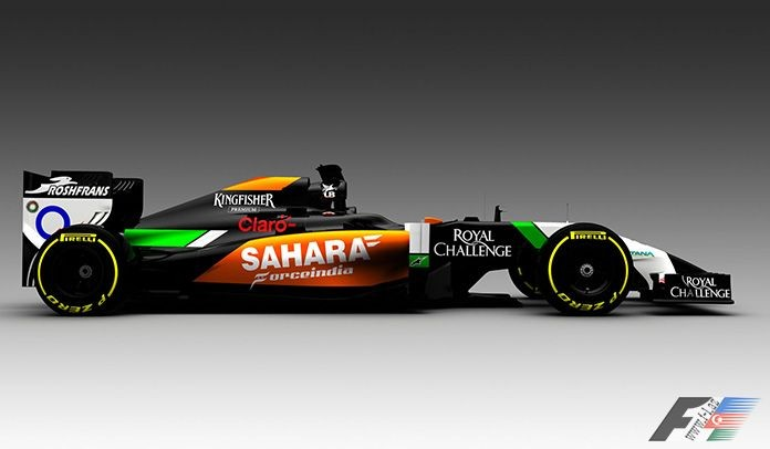 Sahara Force İndia F1 Team – VJM07 (video)