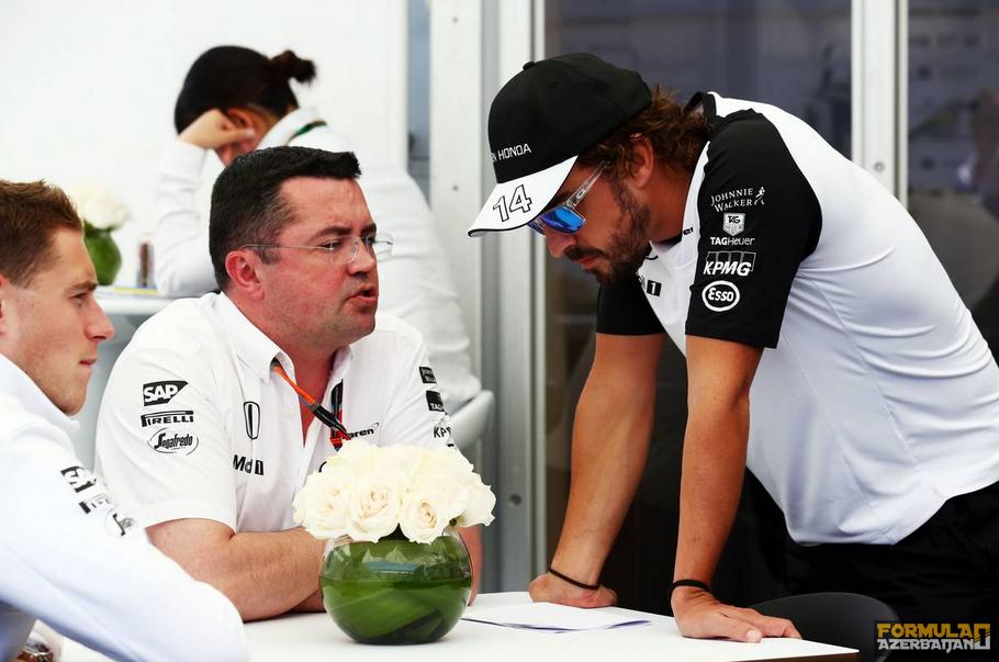 """E.Bulye: """"McLaren Yaponiyada əlavə təzyiq hiss etməyəcək"""""""