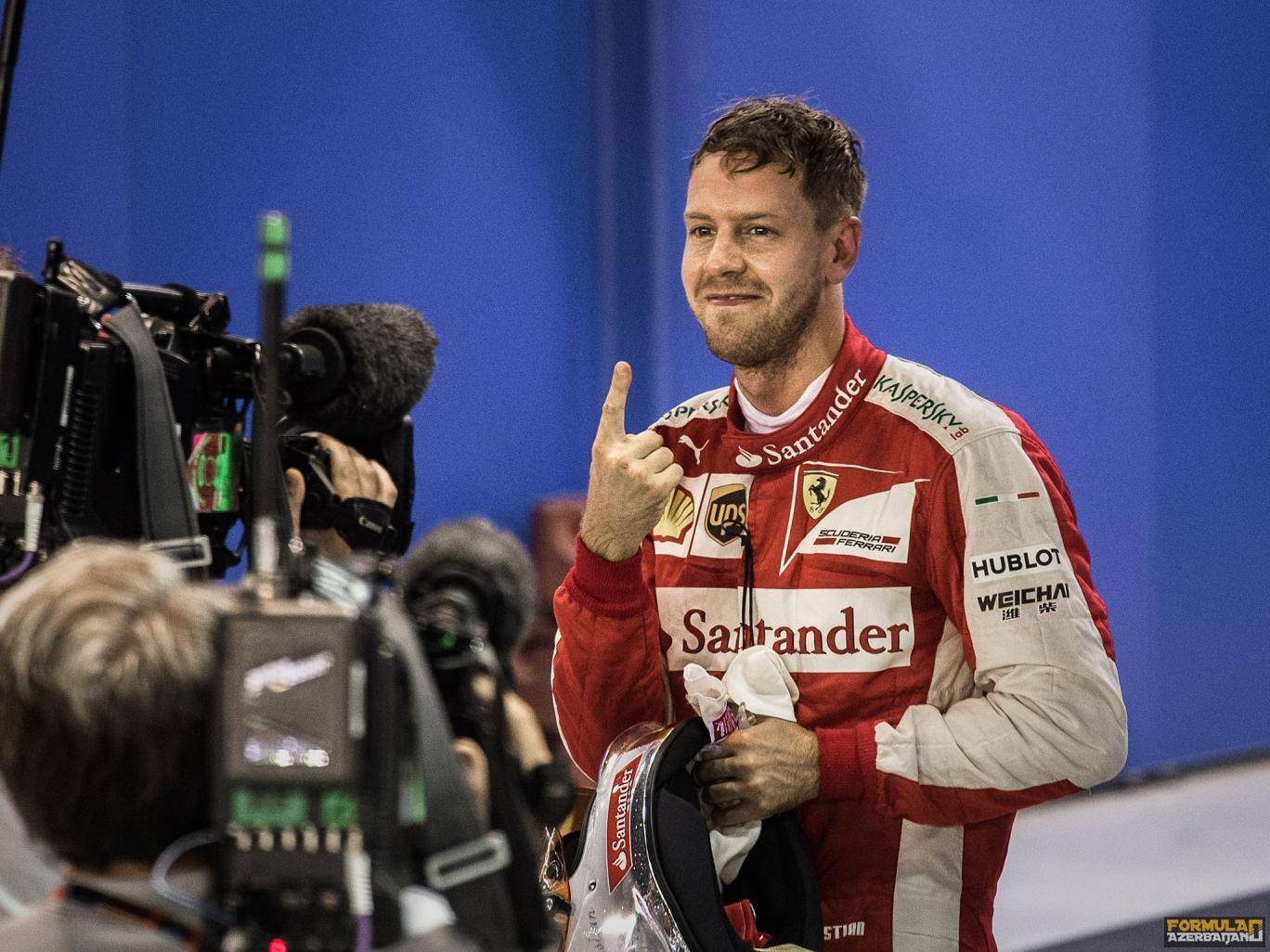 """S.Fettel: """"Mercedes AMG yarışın favoritidir"""""""