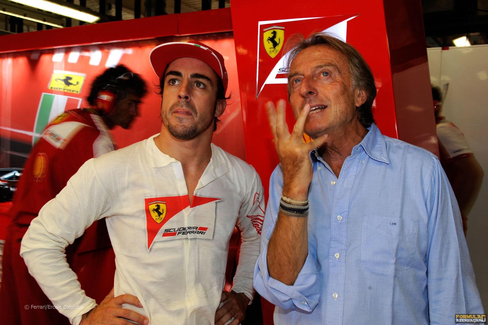 """L.di Montedzemelo: """"Alonso dünyanın ən güclü pilotudur"""""""