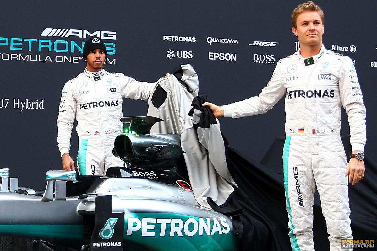 Mercedes AMG komandasının sürücüləri Bakı yarışını səbrsizliklə gözləyirlər
