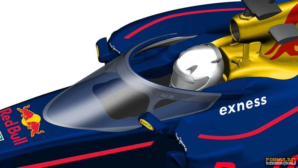 Red Bull komandasının baş qorunması sistemi rəsmən üzə çıxıb