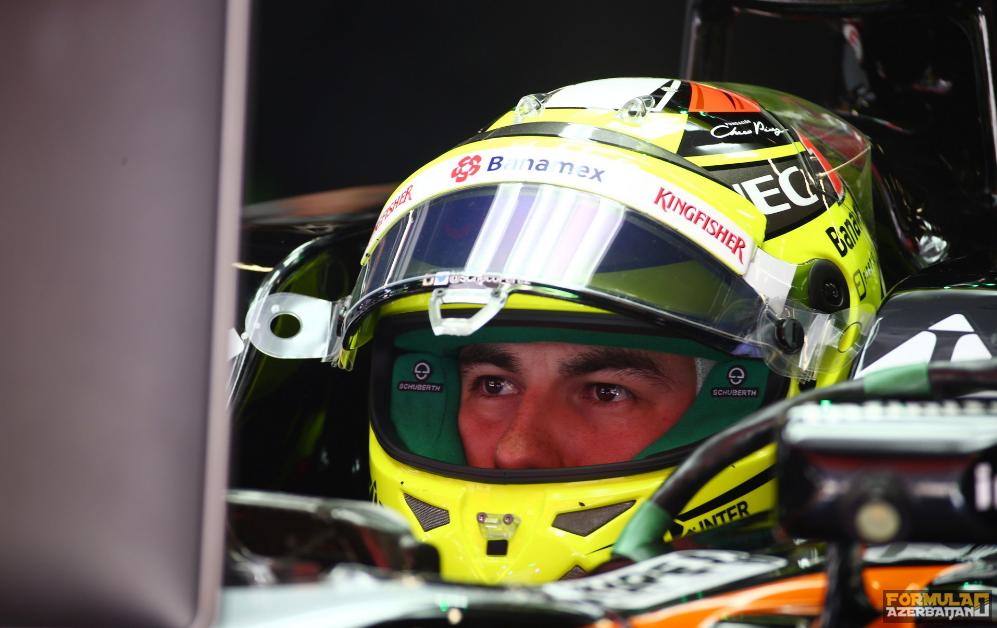 """S.Peres: """"Williams və Toro Rosso-dan geridəyik"""""""