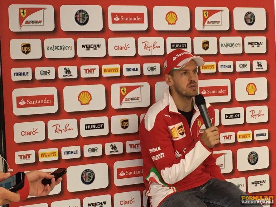 "S.Fettel: ""Ferrari doğru yoldadır"""