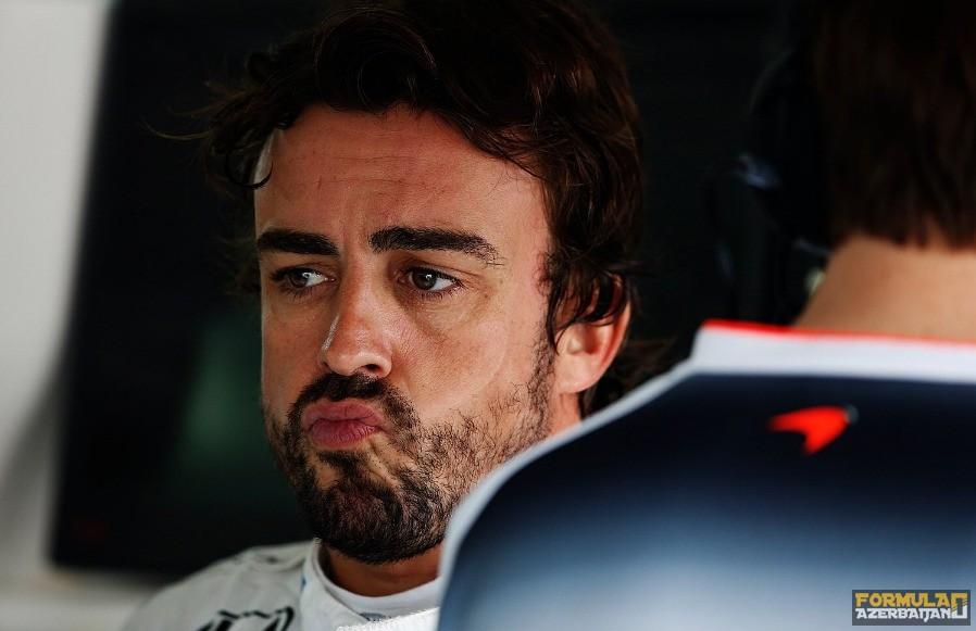 F.Alonso yeni McLaren-in rəngini bilmir?