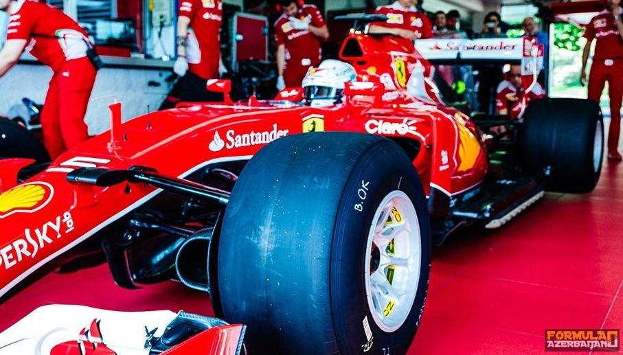 Pirelli-nin 2017-ci il üçün olan təkərləri göründü