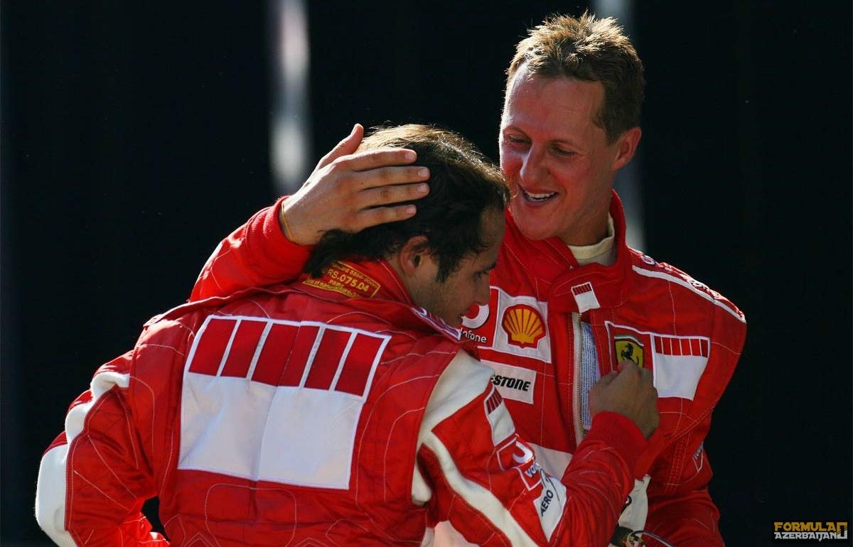 """F.Massa: """"Ən güclü komanda yoldaşlarım Alonso və Şumaxer idi"""""""