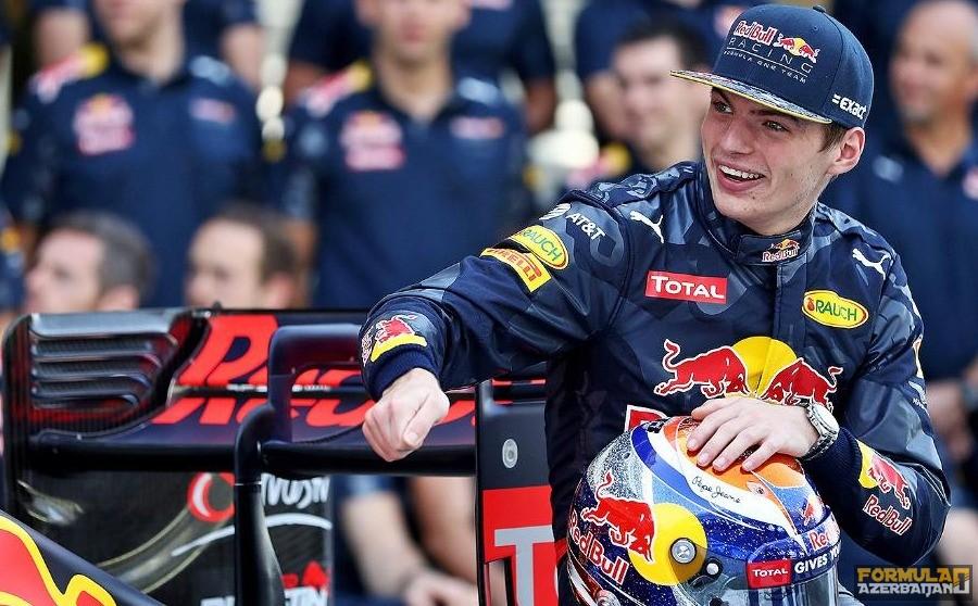"""M.Ferstappen: """"Red Bull-a transfer olmaq ən böyük uğurumdur"""""""