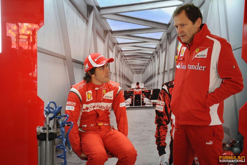 """A.Kosta: """"Alonsonu Mercedes-də görə bilmirəm"""""""