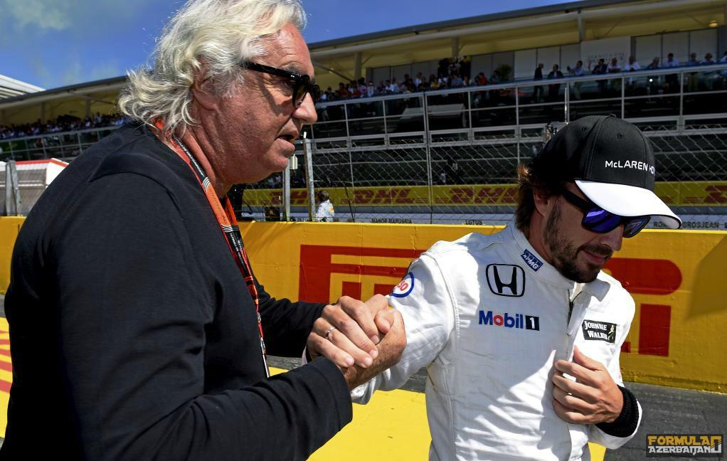 """F.Briatore: """"Alonso Mercedes-ə keçməyəcək"""""""