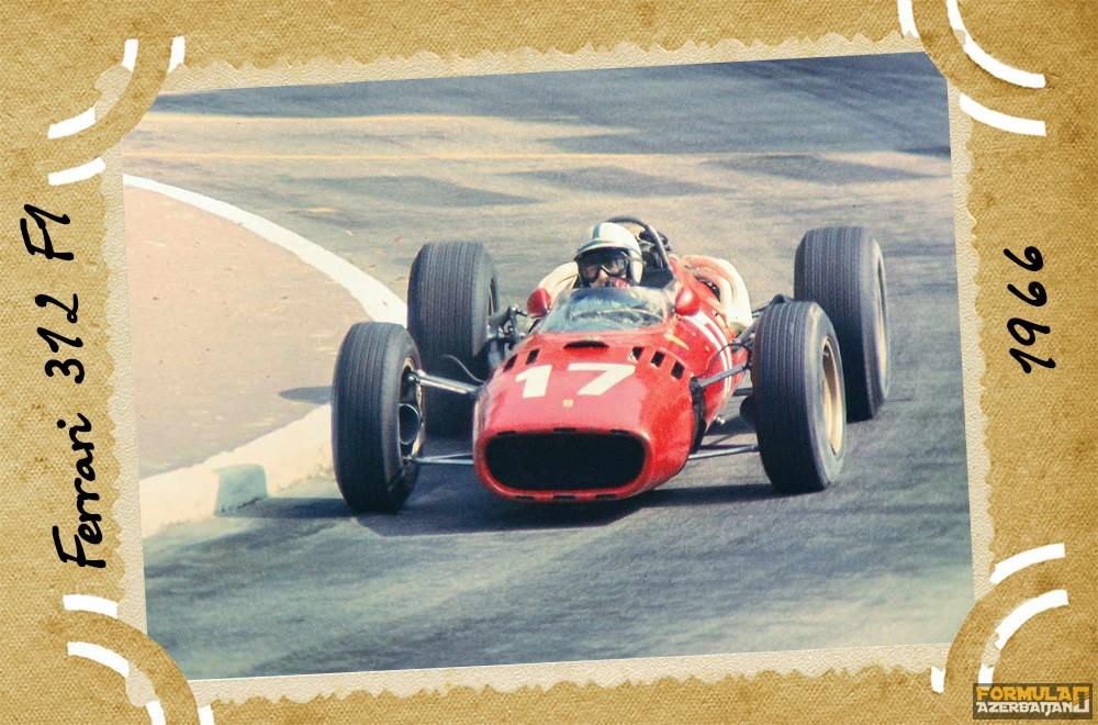 Ferrari-nin təkamülü (1950-2016-cı illər): 16-cı yazı – Ferrari 312 F1
