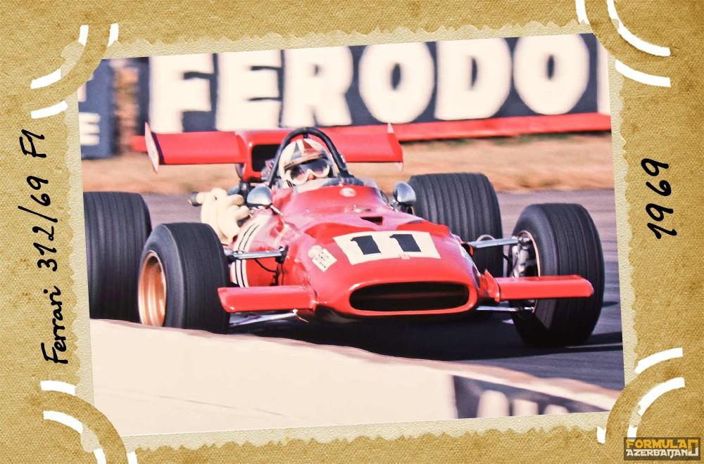 Ferrari-nin təkamülü (1950-2016-cı illər): 19-cu yazı – Ferrari 312/69 F1