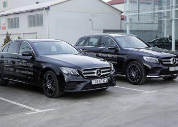Mercedes-Benz avtomobillərinin test drayvı (video)