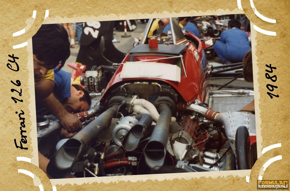 Ferrari, Scuderia Ferrari, Ferrari 126 C4, 1984