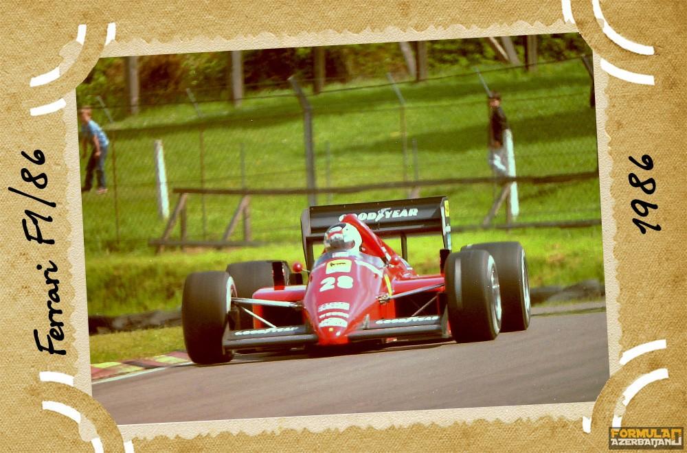 Ferrari, Scuderia Ferrari, Ferrari F1/86, 1986