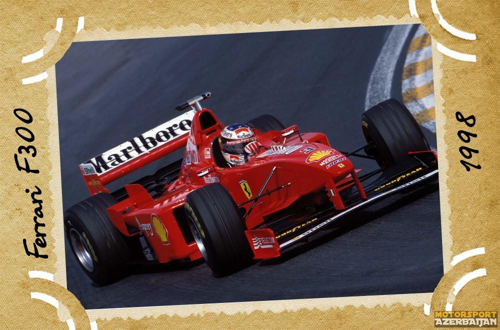 Ferrari, Scuderia Ferrari, Ferrari F300, 1998