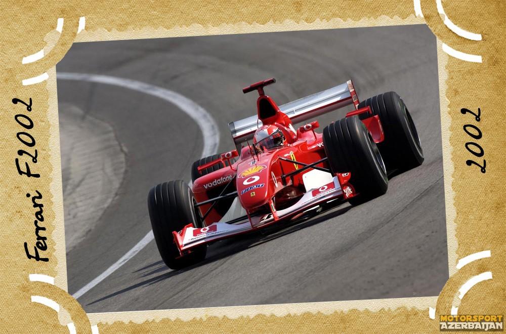 Ferrari-nin təkamülü (1950-2016-cı illər): 52-ci yazı – Ferrari F2002