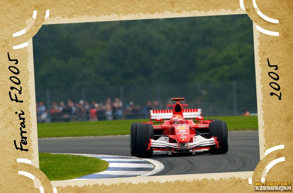 Ferrari-nin təkamülü (1950-2016-cı illər): 55-ci yazı – Ferrari F2005