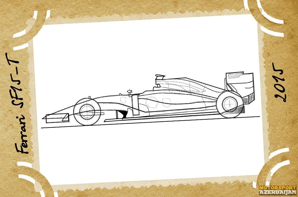 Ferrari, Scuderia Ferrari, Ferrari SF15-T, 2015, Kimi Raikkonen, Sebastian Vettel