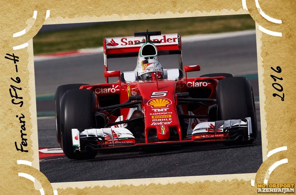 Ferrari-nin təkamülü (1950-2016-cı illər): 66-cı yazı – Ferrari SF16-H