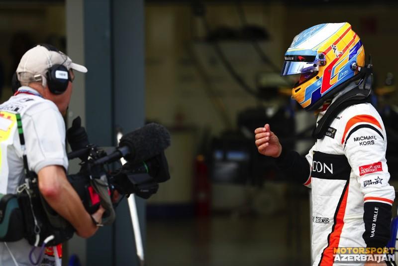 "F.Alonso: ""Heyvan kimi sürdüm"""