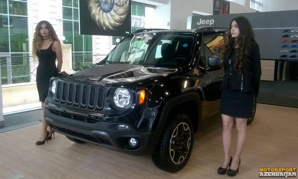 Yeni Jeep Renegade modeli təqdim olunub (video)