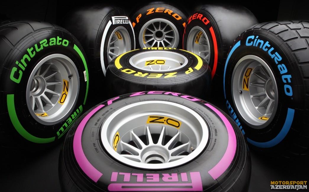 Pirelli Britaniya Qran Prisi üçün təkər seçimini elan edib
