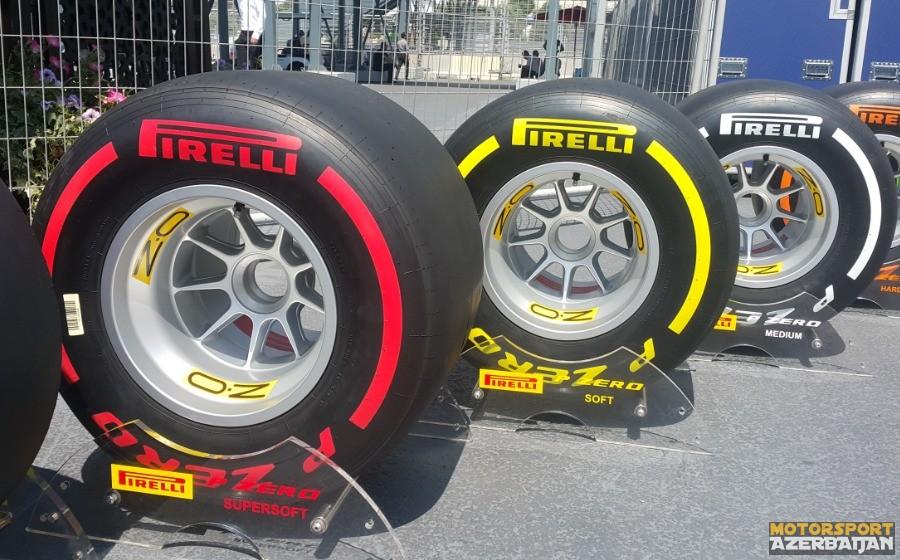 Pirelli Braziliya Qran Prisi üçün sürücülərin təkər seçimini bəyan edib