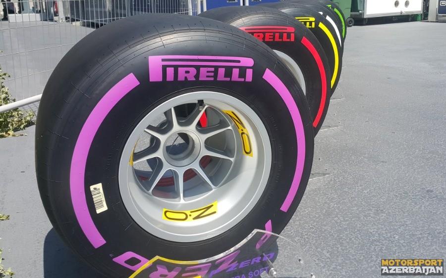 Pirelli Meksika Qran Prisi üçün sürücülərin təkər seçimini bəyan edib