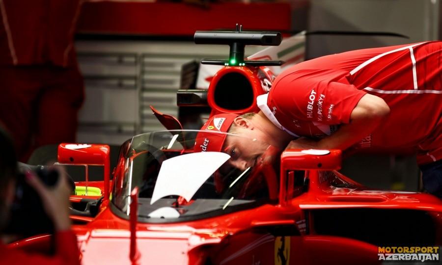 Ferrari Qalxan sisteminin testlərinə hazırlaşır