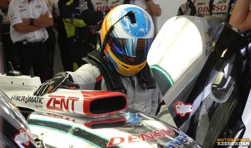 F.Alonso LMP1 ilə ilk testinə çıxıb