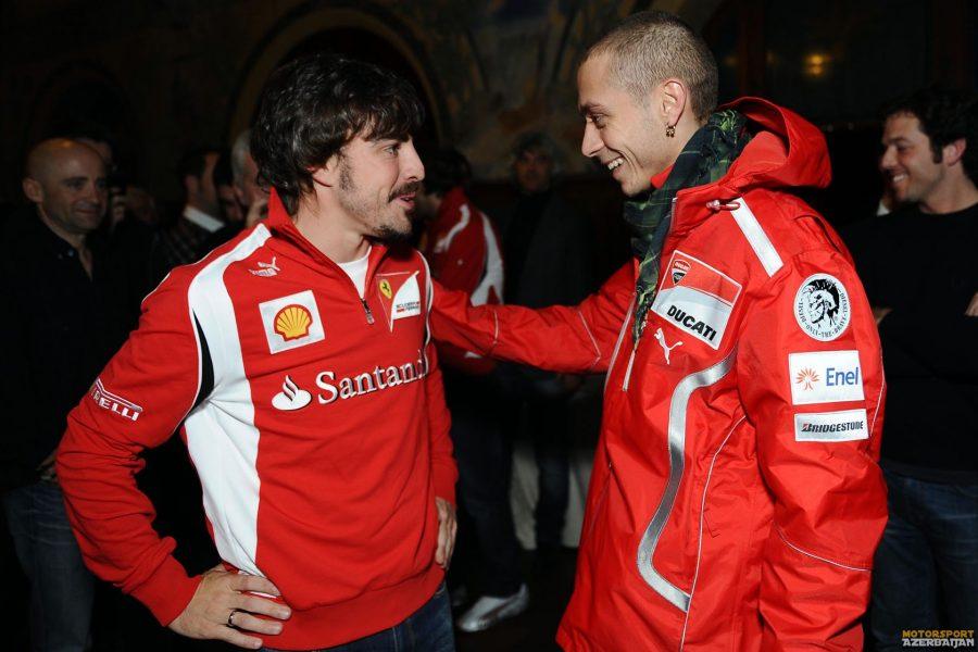 V.Rossi Alonso ilə komanda yoldaşı olmaq istəyir?