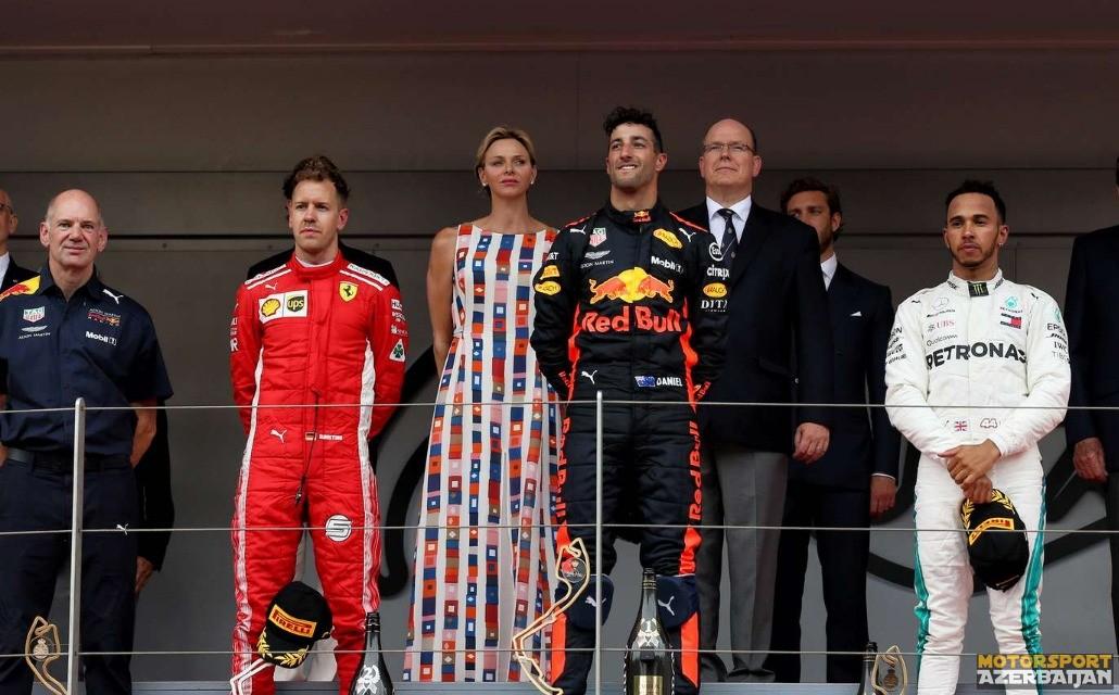 Monako-2018: Yarış