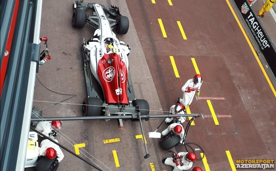 Monako-2018: DHL Fastest Pit Stop Award