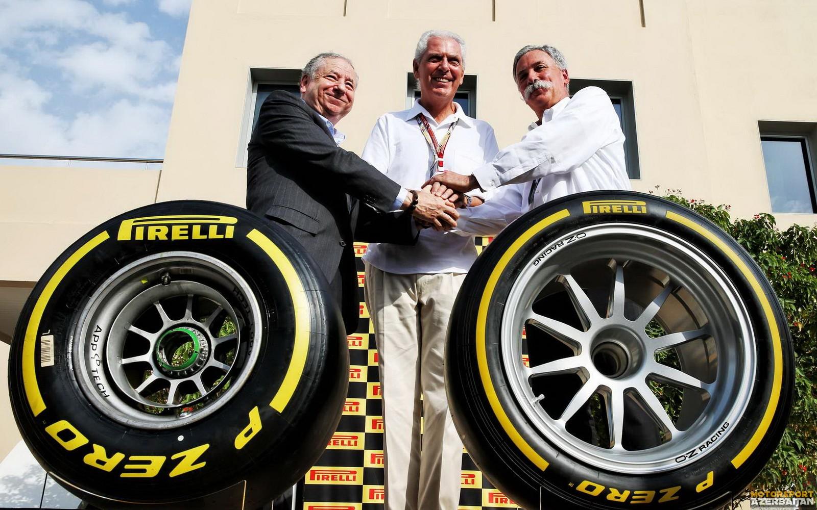 Pirelli 2023-cü ilə qədər çempionatda qalacaq