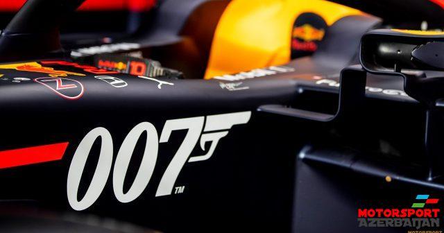 Red Bull Ceyms Bond rəng çaları ilə yarışacaq