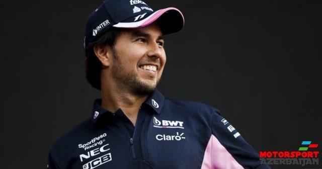 Rəsmən: Peres daha üç il Racing Point komandasında yarışacaq