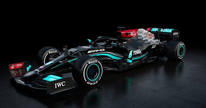 Mercedes yeni W12-ni təqdim edib