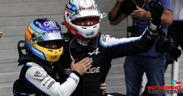 F.Alonso: Startda bəxtim gətirmədi